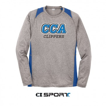 Colorblock Competitor Long Sleeve Tee