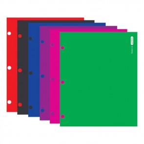 Laminated Bright Glossy Color 2-Pockets Portfolios